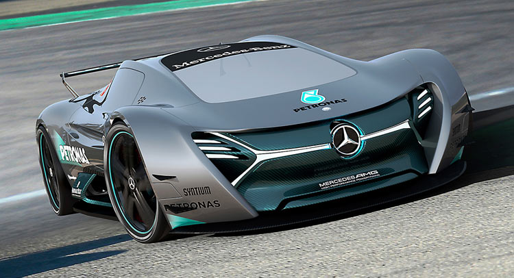 mercedes benz elk fits the future ev supercar bill