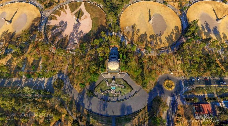 La Ciudad de México vista en 360° desde las alturas