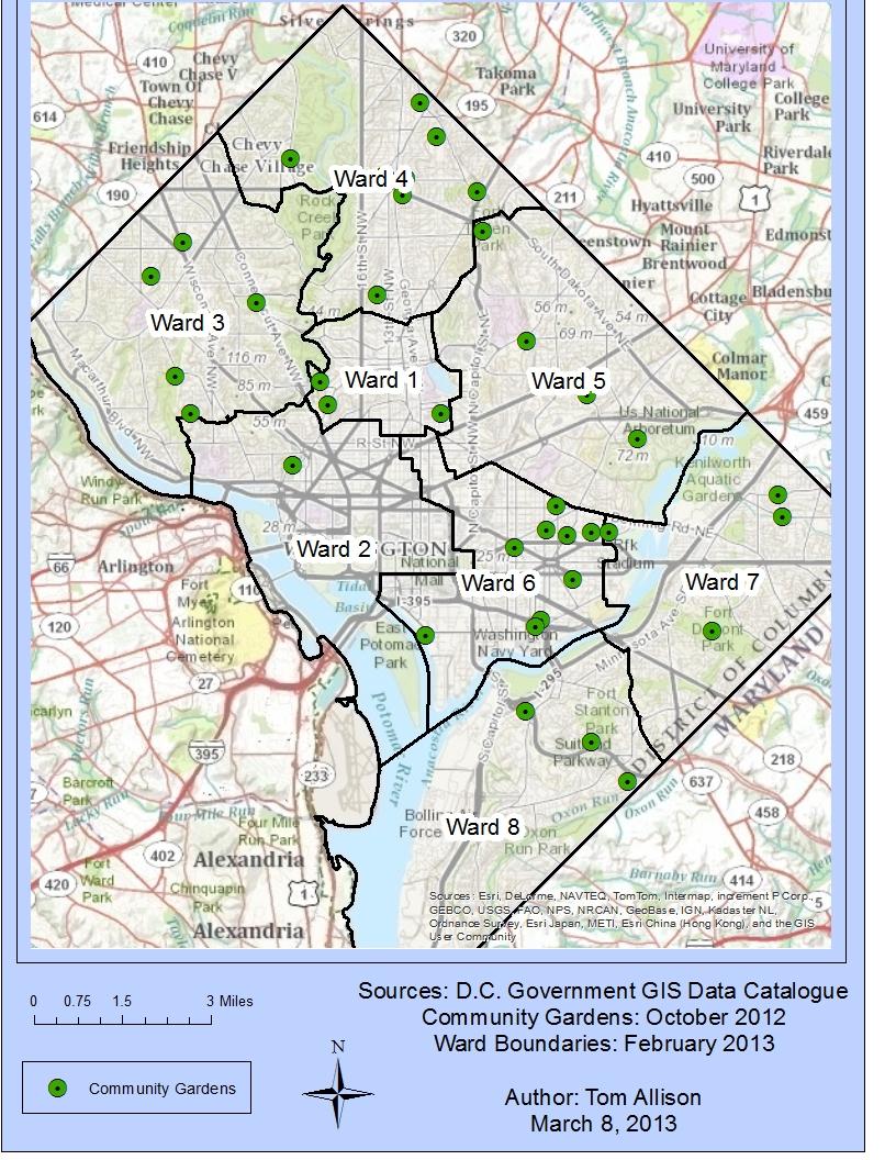 Washington Dc Ward 7 Map MEMES