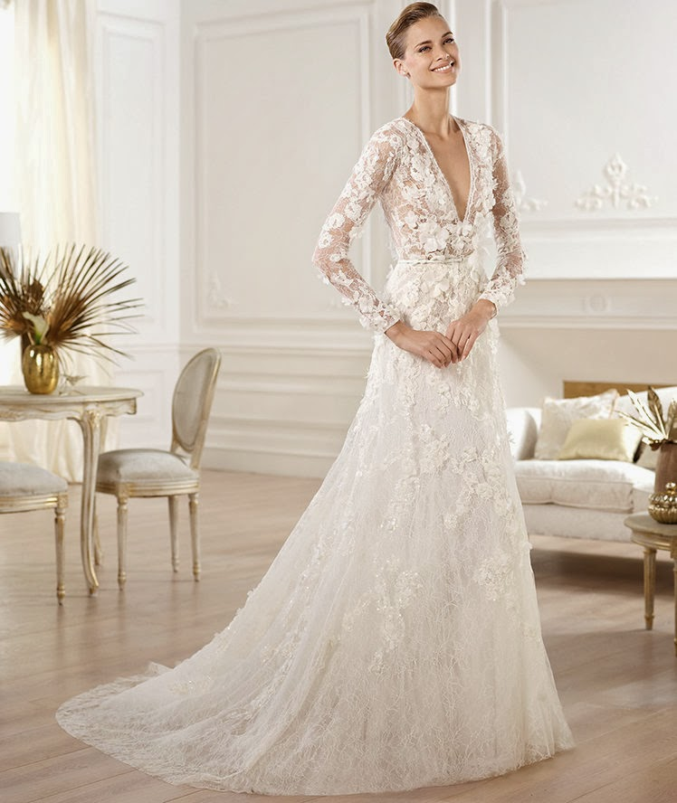 Wedding Dresses Luxury : Passion for luxury elie saab wedding gowns
