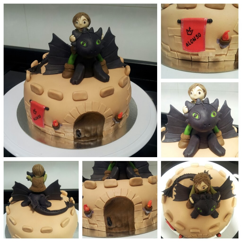 how to train your dragon cake decorating kit