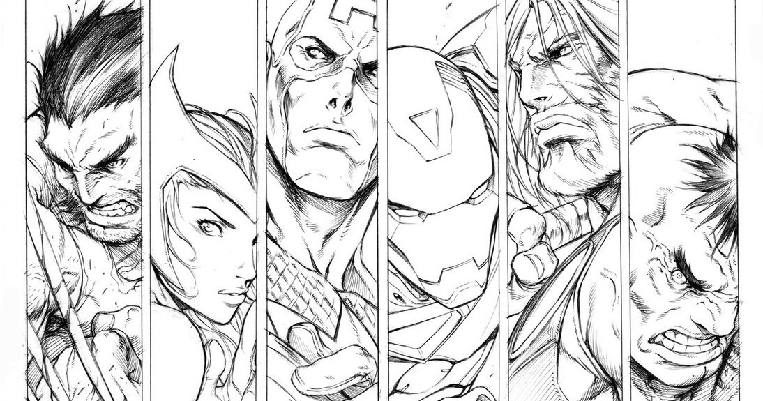 Free Nick Fury From Avengers Coloring Pages: Craftoholic: Ultimate Avengers Coloring Pages