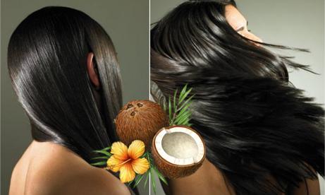 olio di cocco, protezione capelli, olio di ricino, olio di sesamo, olio essenziale di limone