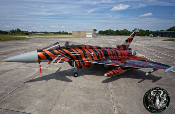 Eurofighter Typhoon Bavarian Tigers