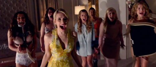 Scream Queens Trailers, Featurette, Images and Posters