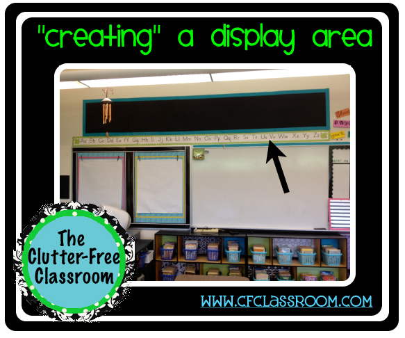 http://clutterfreeclassroom.blogspot.com/2012/07/creating-display-areas-classroom-360.html