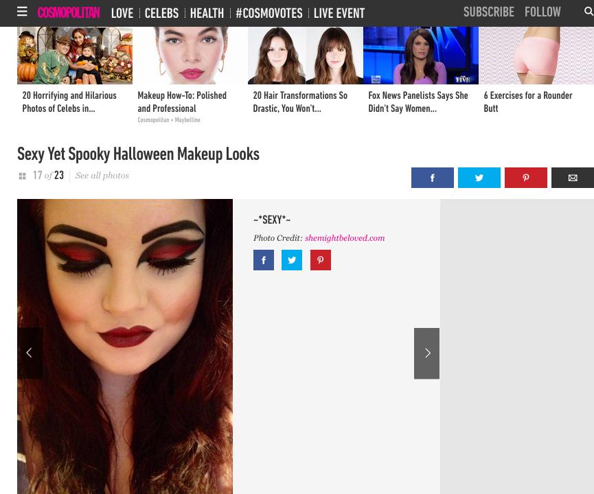 Cosmopolitan Halloween Feature, shemightbeloved, georgina grogan