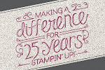 25 jaar Stampin' Up!®