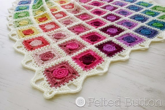 Felted Button - Colorful Crochet Patterns: And the Circle ...