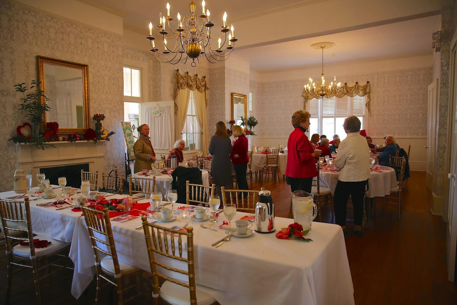 Sweet Southern Days: Annual Garden Club Valentine Luncheon 2015 ...