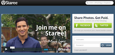 make money online sharing photos on staree