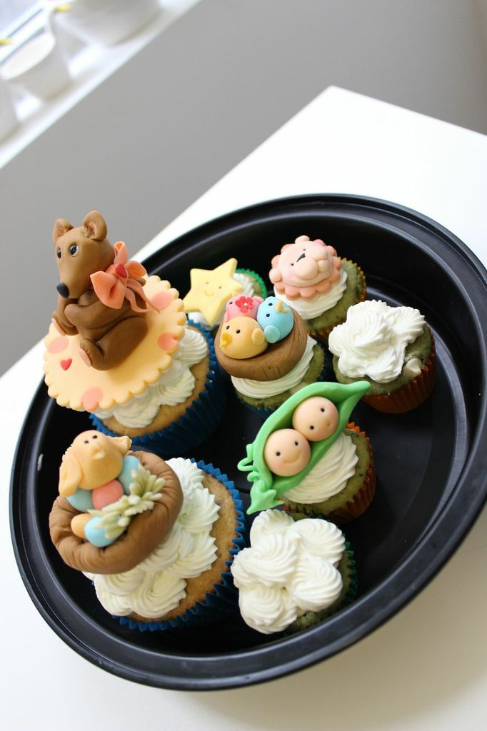 What Cute Baby Cupcake Toppers!