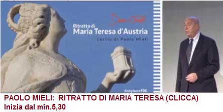 PAOLO MIELI: RITRATTO DI MARIA TERESA