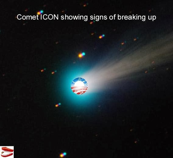 Startling New Picture Shows Comet ICON May Be Breaking Up