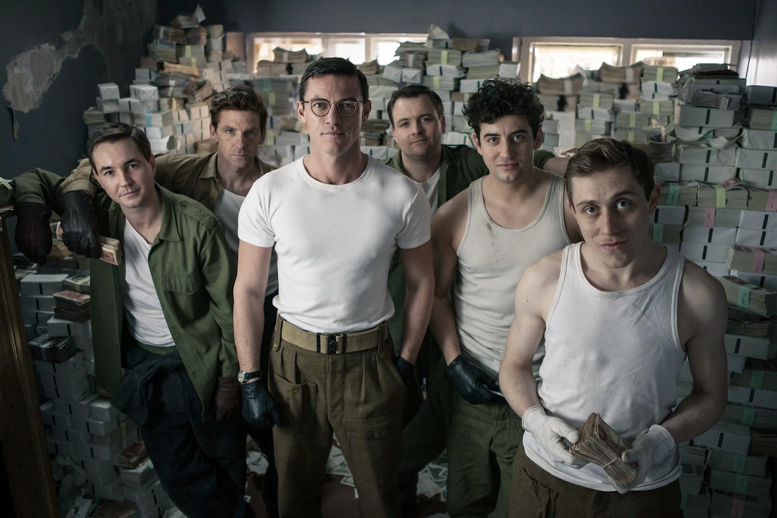 The Great Train Robbery, luke evans, a robber's tale, robo tren, glasgow, jim broadbent, 2013, bbc,el zorro con gafas