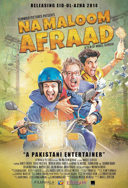 Poster Of Na Maloom Afraad 2014 480p Urdu HDRip Full Movie