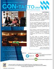 Boletín Institucional Con-Tacto UNA Noviembre - Diciembre 2017