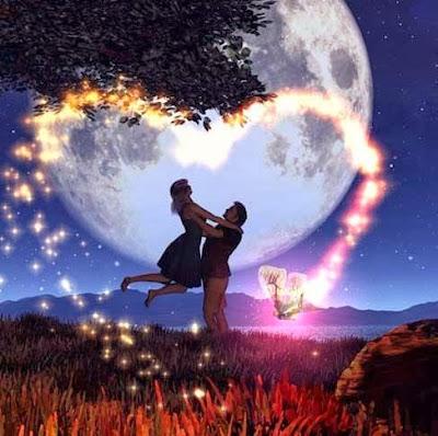 Une lettre d'amour en étoile