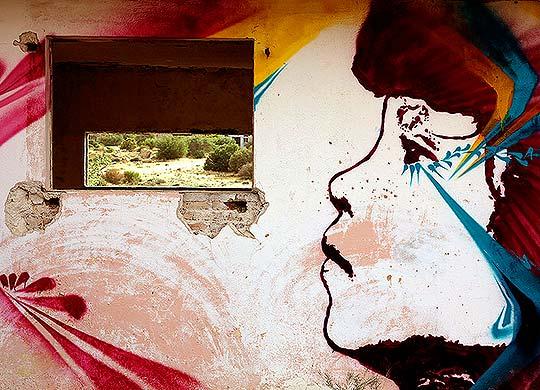 Arte urbano psicodelia y reflexión de Stinkfish