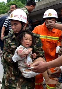 "China Post, Taiwan 21.April: ""Szetchuan quake kills 156,5878 injured"""