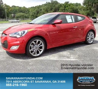 2015 Hyundai Veloster, New Car Specials, Savannah Hyundai, Coupe