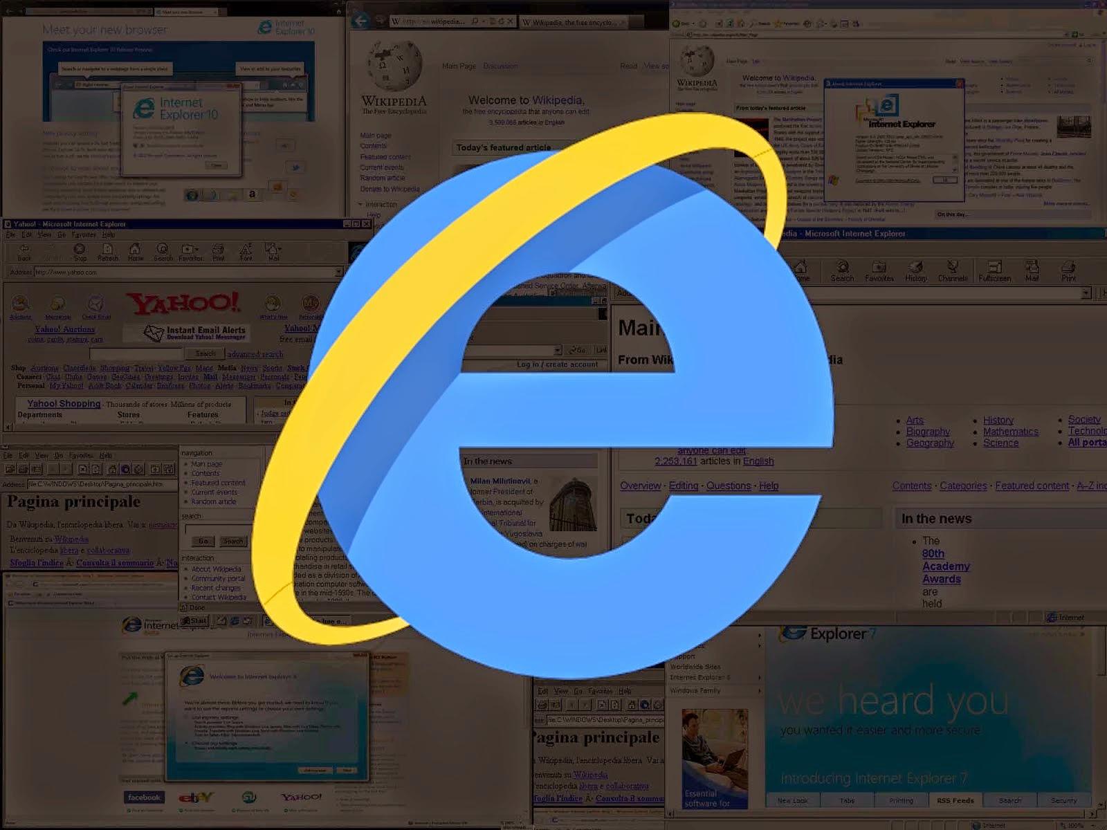 فيديو : تاريخ متصفح مايكروسوفت Internet Explorer في ثلاثة دقائق - مدونة الحماية