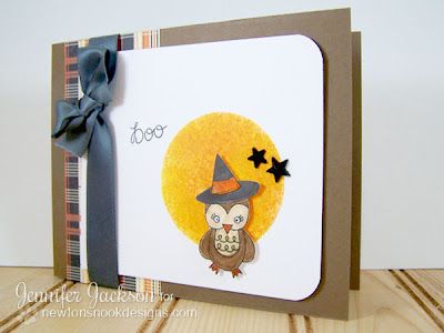 Owl Halloween Card using Boo Crew Stamp Set
