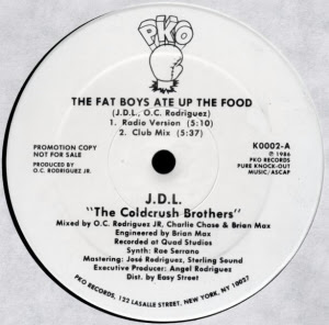 J.D.L. The Coldcrush Brothers ‎– The Fat Boys Ate Up The Food (VLS) (1986) (256 kbps)