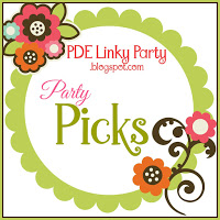 Party Pick bij PDE Linky Party.