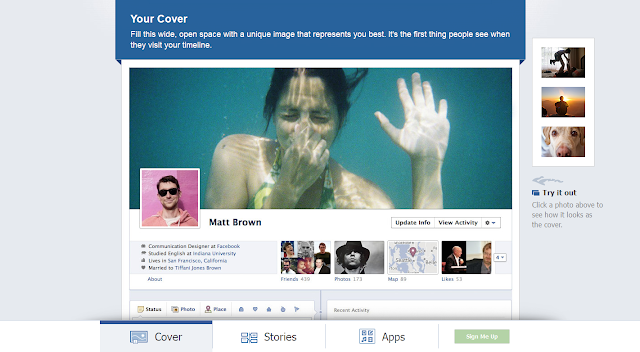 timeline+facebook+capa