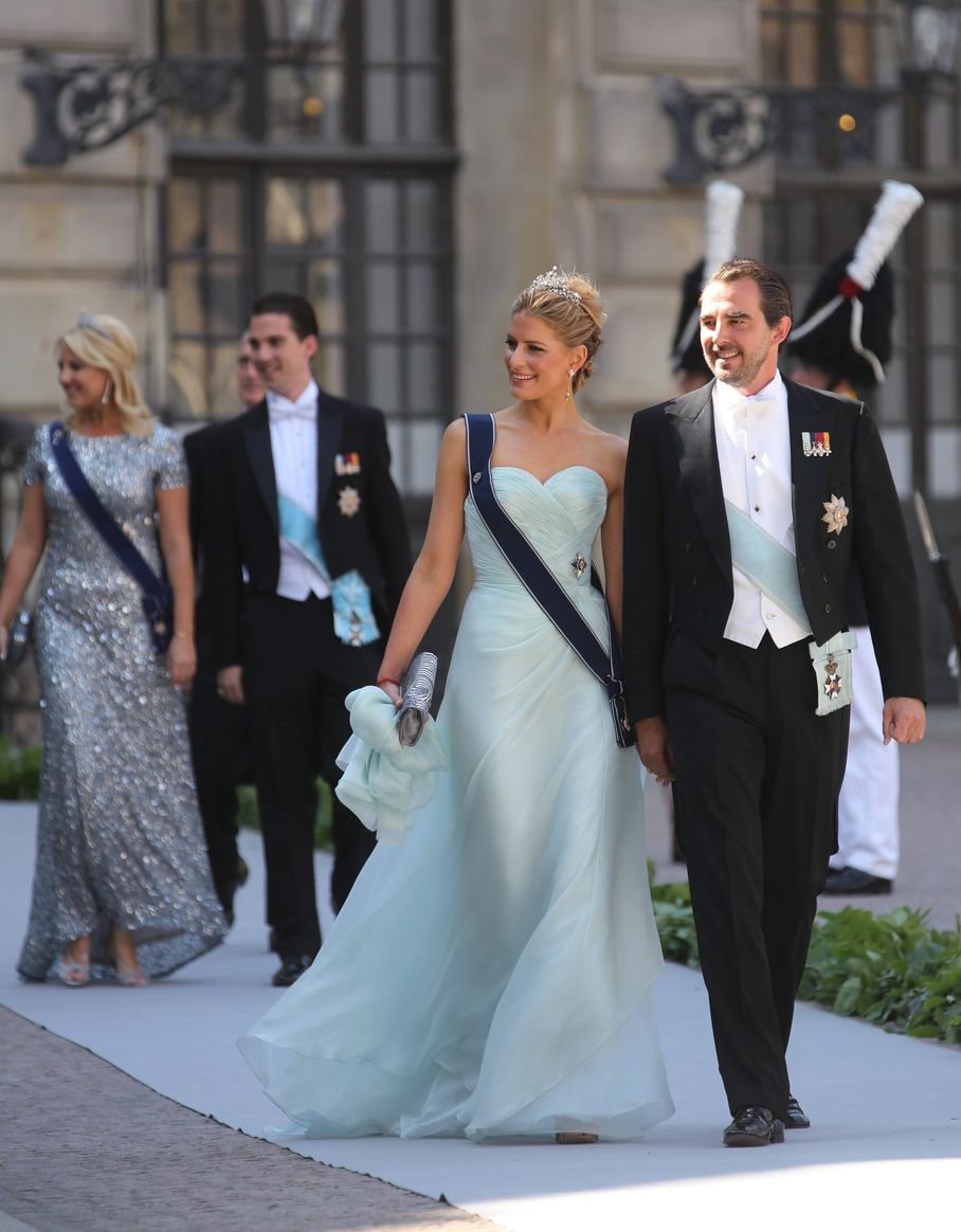 THE DRESSES AND GUESTS AT THE WEDDING OF PRINCESS MADELEINE OF ...