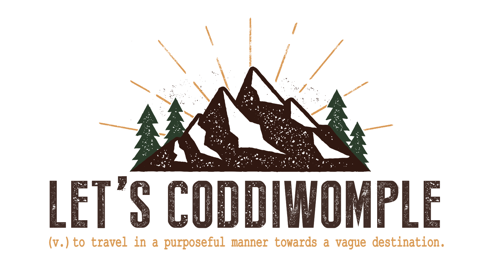 Let's Coddiwomple
