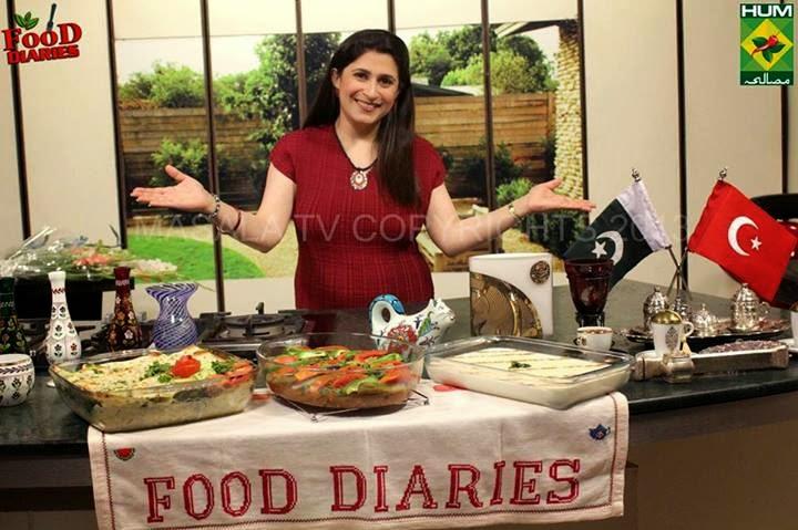 Food diaries recipes zarnak sidhwa 1st oct 14 masala tv show chocolate doughnutshoney chicken forumfinder Choice Image