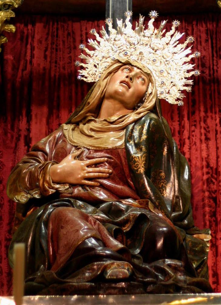 Jesusario: Nuestra Señora de las Angustias