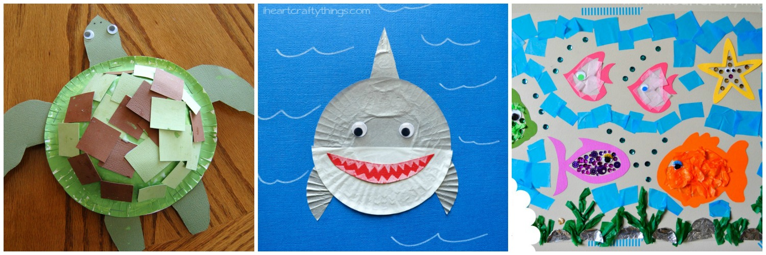 heart crafty things 15 fantastic ocean themed kids crafts