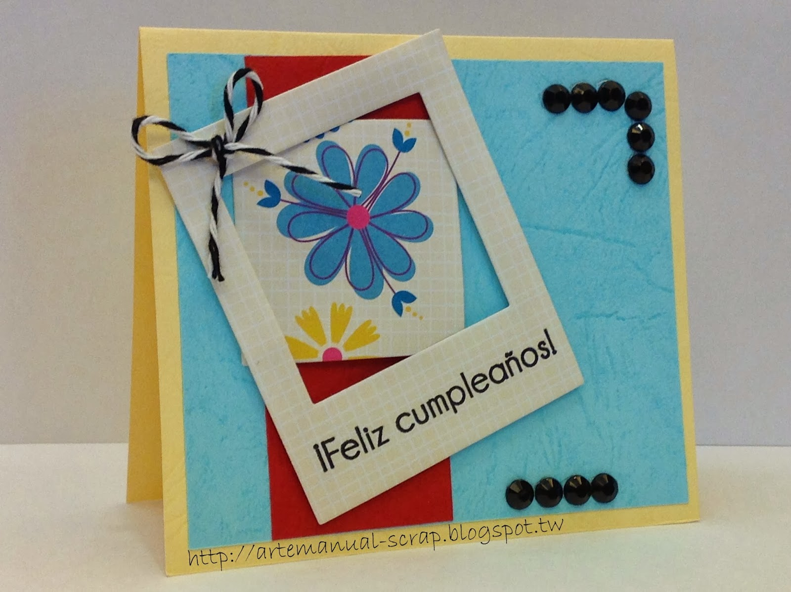 Patsy 39 s scrapbooking tarjeta de cumplea os dia for Hacer tarjeta cumpleanos