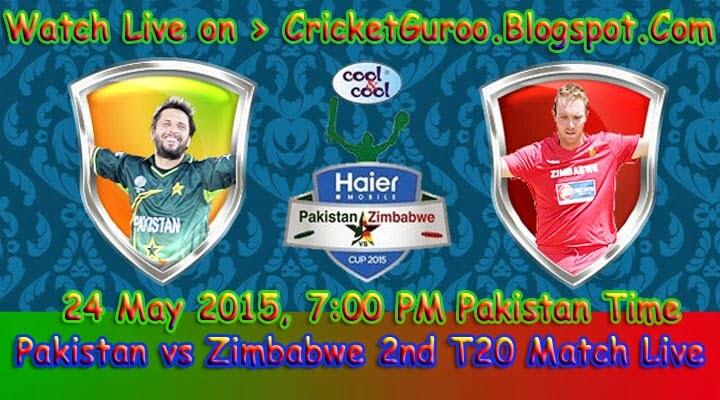 Pakistan vs Zimbabwe 2nd T20 Live Streaming