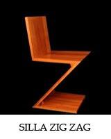 Silla steltman de gerrit rietveld blog arquitectura y dise o for Silla zig zag medidas