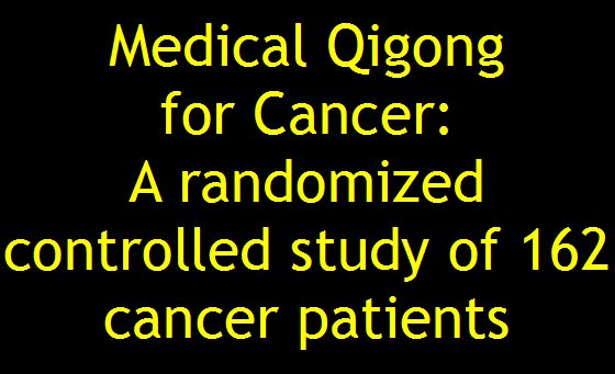 Brian Brown Qi Therapy & Qigong: Medical Qigong for Cancer: A ...