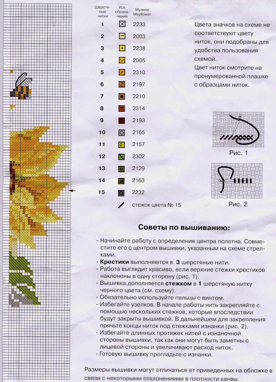 ИГОЛКИ. НЕТ: схемы для вышивки из картинок 3