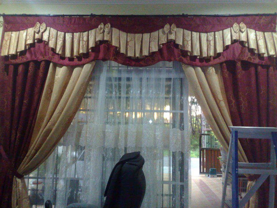 Pin Corak Langsir Terkini Home Interior Design Pictures on