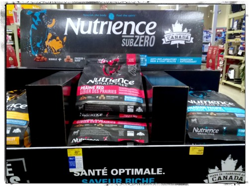 Nutrience SubZero Dog Food