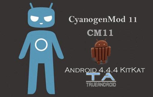 Android 4.4.4 KitKat via CM11 ROM