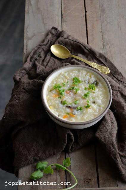 Ramadan Nombu Kanji / Rice & Lentils Porridge / Gruel