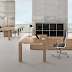 Office space in 3D Model.