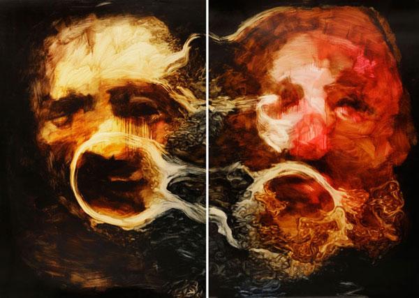 Bookbike Van Byografia : Paintings by johan van mullem