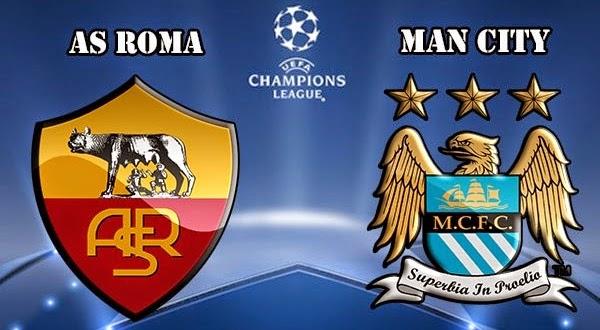 مشاهدة مباراة روما ومانشستر سيتي بث مباشر 10-12-2014 | Roma vs Manchester City