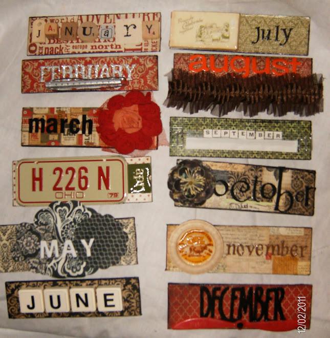 """months for """"Vintage Traveler"""""""