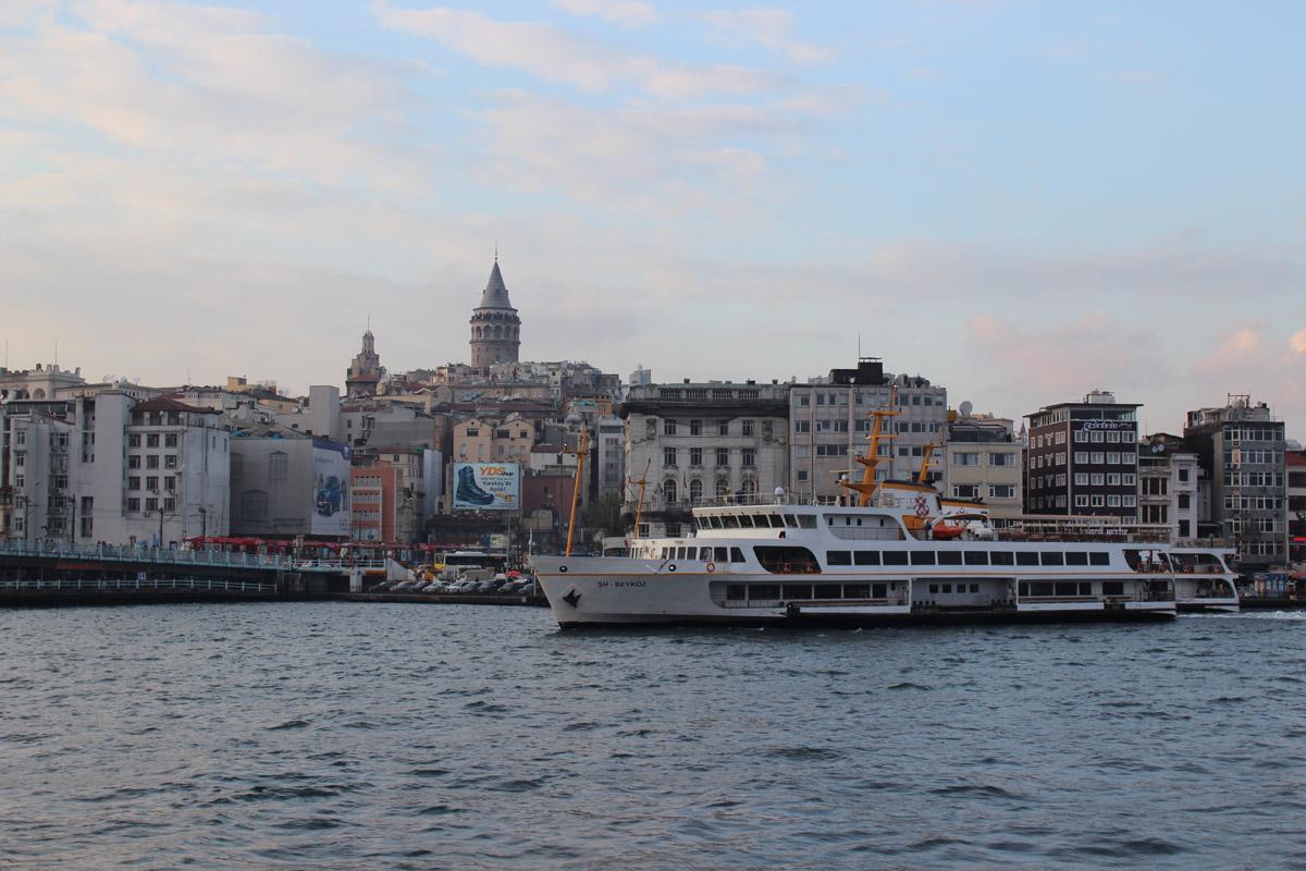 Galata kulesi vapur deniz karaköy