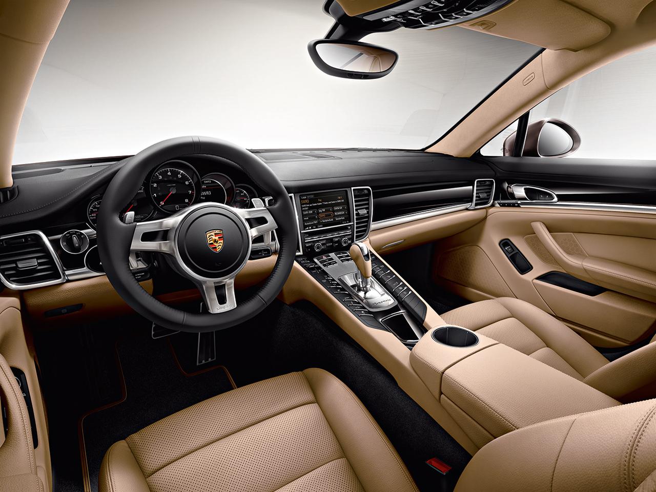 Porsche Panamera Platinum Edition 2013 interior